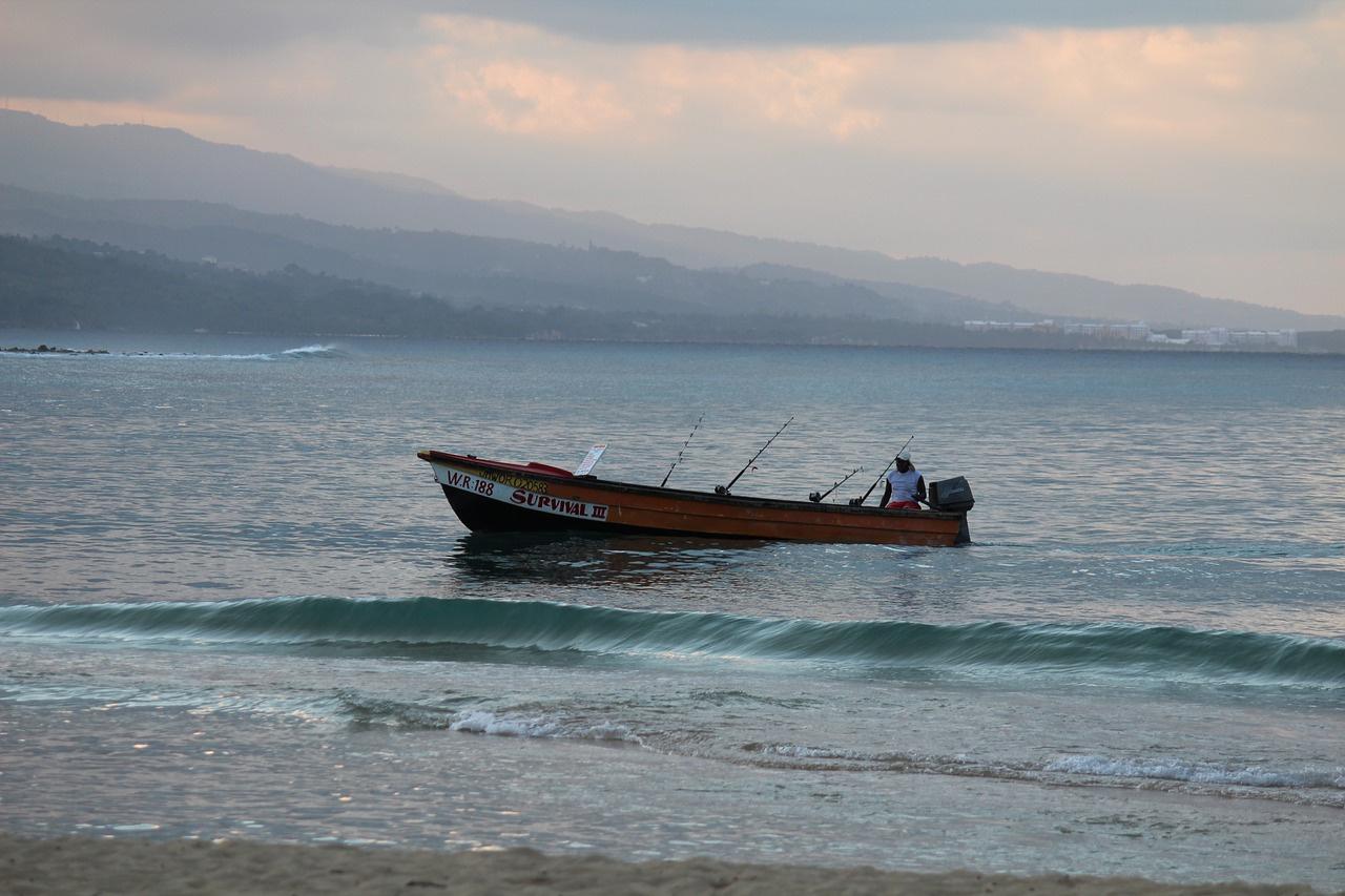 Fishing in Jamaica
